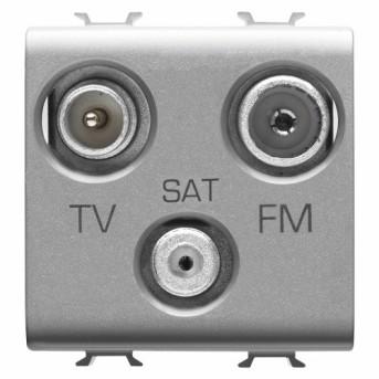 Priza TV-SAT-FM 2m CH/VT - GW14382 - 8011564267077