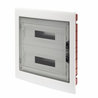 GW40609 Tablou ingropat 36 (18x2) module IP40 laterala WH - GW40609 - 8011564062511