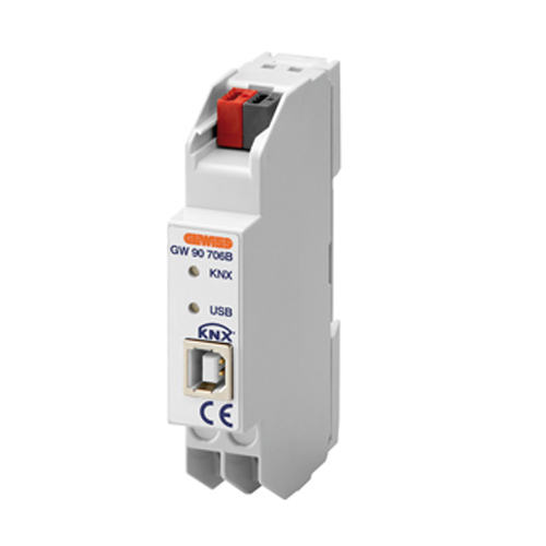 Interfata KNX-USB pentru programare - GW90706B - 8011564795082