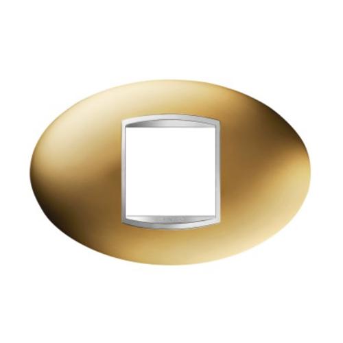 Rama Art 2 module CH/Auriu - GW16302MO - 8011564274389