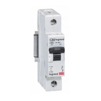 419665 RX3 Disjunctor 1P C20 4500A Monoconnect - 419665 - 3245064196659