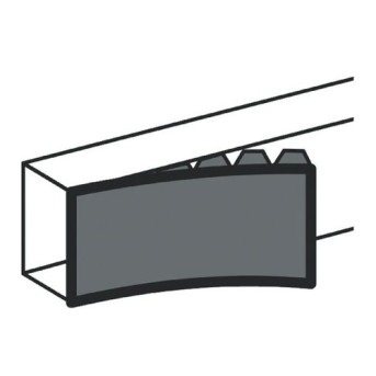 DLP Capac flexibil 130mm Alb 2m/bara - 010524 - 3245060105242