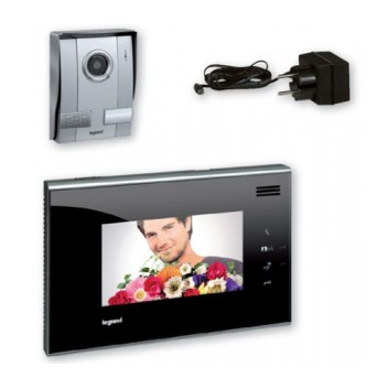 369310 Kit Video Intefon Legrand Display 7inch Negru - 369310 - 3245063693104