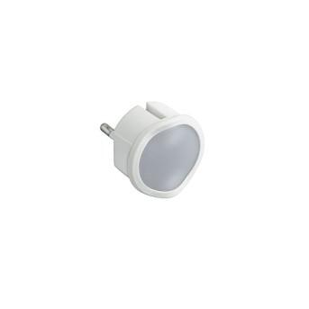 050678 Lampa de veghe/urgenta, pentru priza, cu senzor si dimmer, 2P 10A Alb - 050678 - 3414970010643