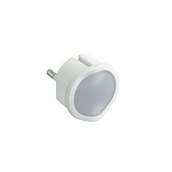 050676 Lampa de veghe, pentru priza, cu senzor si variator, 2P 10A Alb - 050676 - 3414970010629