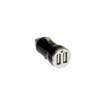 050682 Incarcator USB, auto, dual 12-24V 2.1A 5V, Negru - 050682 - 3414970010599