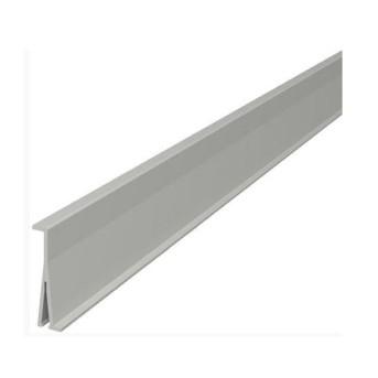 010473 DLP Perete despartitor pentru 65mm cu separare capac Alb 2m/bara - 010473 - 3245060104733