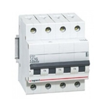 419746 RX3 Disjunctor 4P 50A 4.5kA 400V - 419746 - 3245064197465