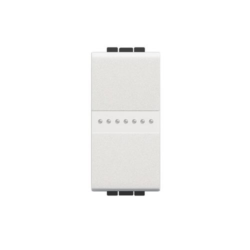 Ll Intrerupator dublu 1P 16A 1 modul - N4053A - 8005543420744
