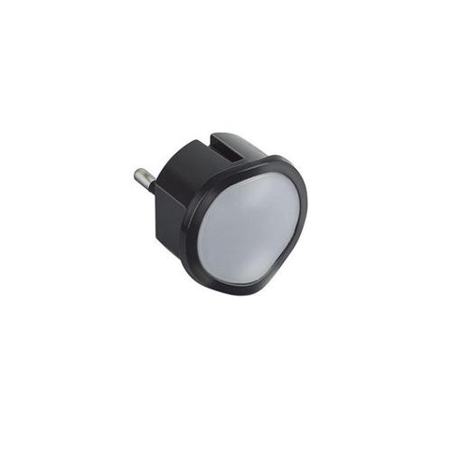 050679 Lampa de veghe/urgenta, pentru priza, cu senzor si dimmer, 2P 10A Negru - 050679 - 3414970010650