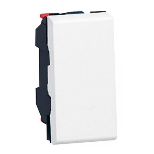Buton Simplu, 1 Modul, Alb - 077030 - 3245060770303
