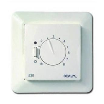 Devireg™530 Termostat 5-35G, 10A, senzor fir in podea - 140F1030