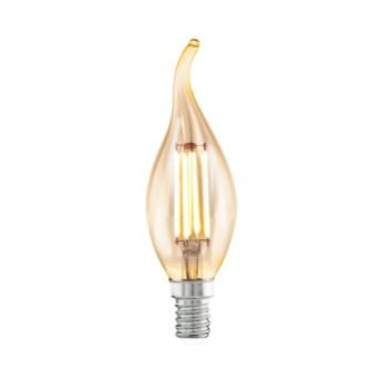 Bec LED vintage LM-E14-LED B35 4W 2200K E14 Amber - 11559 - 9002759115593