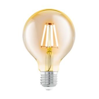 Bec vintage LM-E27-LED G80 4W 2200K E27 Amber - 11556 - 9002759115562