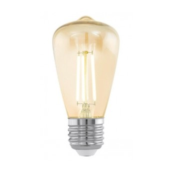 Bec LED vintage LM-E27-LED ST48 3,5W 2200K E27 Amber - 11553 - 9002759115531