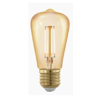 Bec 11695 LM-E27-LED ST48 4W 1700K E27 Amber - 11695 - 9002759116958