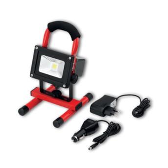 Proiector portabil LED 10W 700lm cu acumulator, autonomie 3H, IP65 - 111580 - 4021103115800