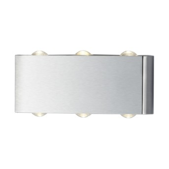 Aplica Aberdeen 6x1W LED 600lm 3000K Nichel mat - 225610607 - 4017807277920