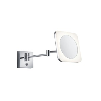 Aplica baie cu oglinda cu lupa 1x 3W LED 280lm 3000K Crom - 283090106 - 4017807345087