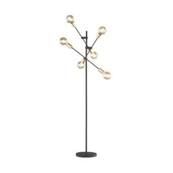 Lampadar Cross 6xMax.28W E27 Negru mat - 406700632 - 4017807364415