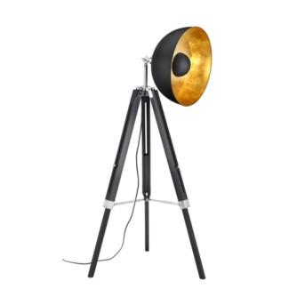 Lampadar Liege 1xMax.60W E27 Negru mat - 407800132 - 4017807303216