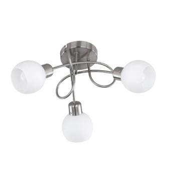 Spot Trio Freddy 3x4W E14 LED 960lm 3000K Nichel m - 624830307 - 4017807257724