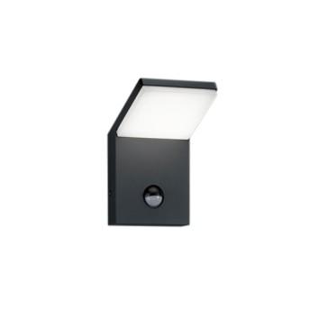 Aplica Pearl 1x9W LED 900lm 3000K pentru exterior, cu senzor de miscare - 221169142 - 4017807279290