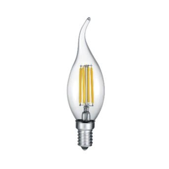 Bec LED forma lumanare, Filament BA35 CL 4-35W 2700K (400lm) E14 - 990-400 - 4017807287493