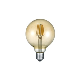 LED Filament Gold G95 6-37W 2700K (420lm) E27 - 988-679 - 4017807287530