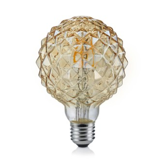 904-479 LED Filament Gold G95 4 30W 2700K 320lm E27 10.000h - 904-479 - 4017807351477