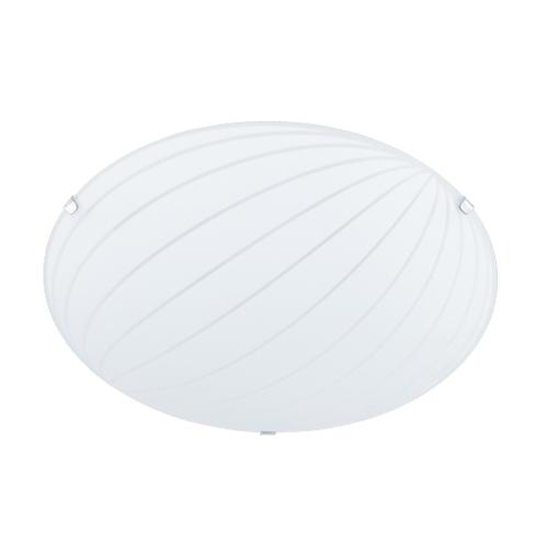 Aplica tavan / Plafoniera Alba 2xMax40W E27 300mm, Alb satinat - 601900200 - 4017807223552