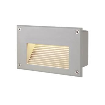 229702 Brick Spot incastrat 1.4W LED 30lm 3000K Gri IP54 - 229702 - 4024163102957