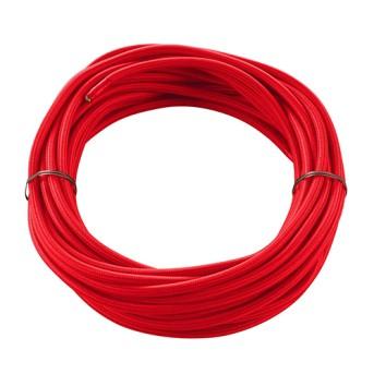 961276 Cablu textil rosu 3x0.75mm 10m - 961276 - 4024163144247