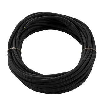 961270 Cablu textil negru 3x0.75mm 10m - 961270 - 4024163144209