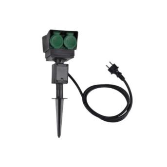 PRZ 1000868 Priza exterior 4 x Priza schuko cu cablu 1.5m - 1000868 - 4024163191609