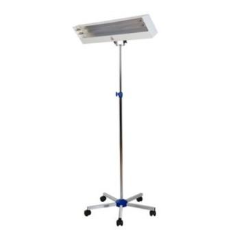 Lampa UV pentru dezinfectie suprafete cu picior mobil pe role - LBA 30W-S (cu stativ)