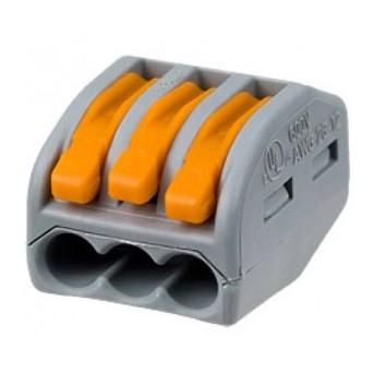 222-413 Clema legatura Wago 3x0.08-2.5mm litat max. 32A - 222-413