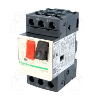 GV2ME20 Intrerupator automat 3P pentru motor cu reglaj 13 - 18A - GV2ME20 - 3389110343199
