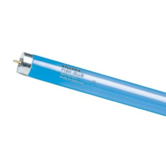 Tub fluorescent colorat F 58W BL Albastru SYL - 2571 - 5410288025711