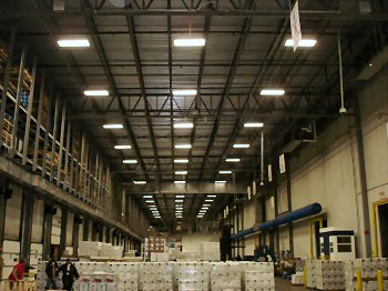 iluminat zona productie - depozite - iluminat hala inalta