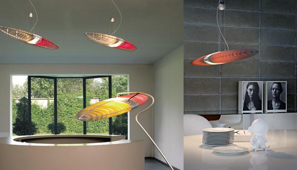 Luceplan, Philips - iluminat interior, design italian