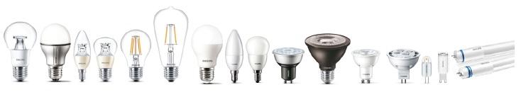 Philips îți răsplătește fidelitatea 2016!, Becuri cu LED