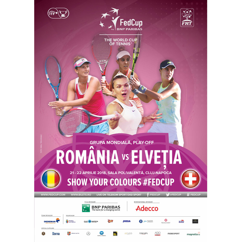 Power Electric sustine tenicul Romanesc - FedCup 2018 Cluj-Napoca