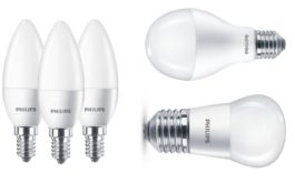 Becuri LED Philips diverse marimi si forme