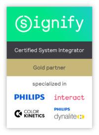 Certificat Signify Partner Program